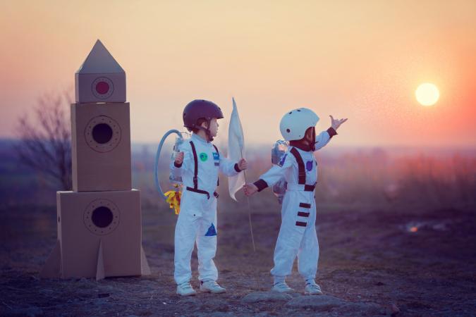سرنوشت کودکان در فضا