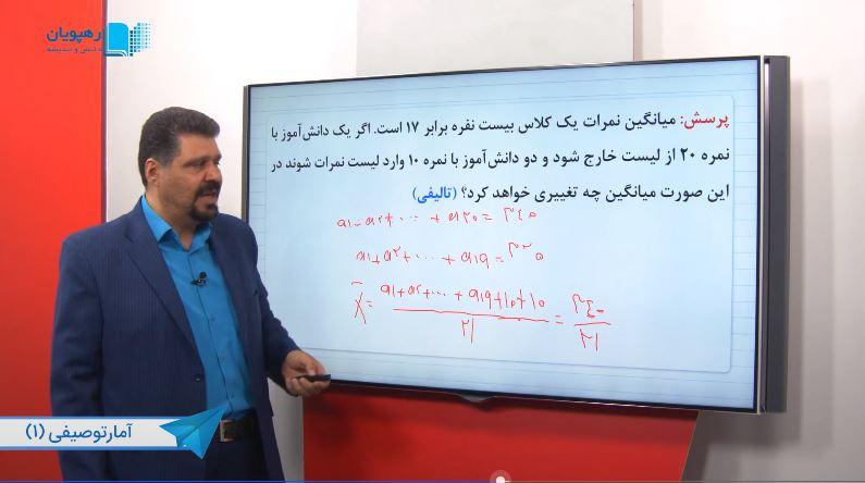 آموزش با حل تمرین ریاضی یازدهم