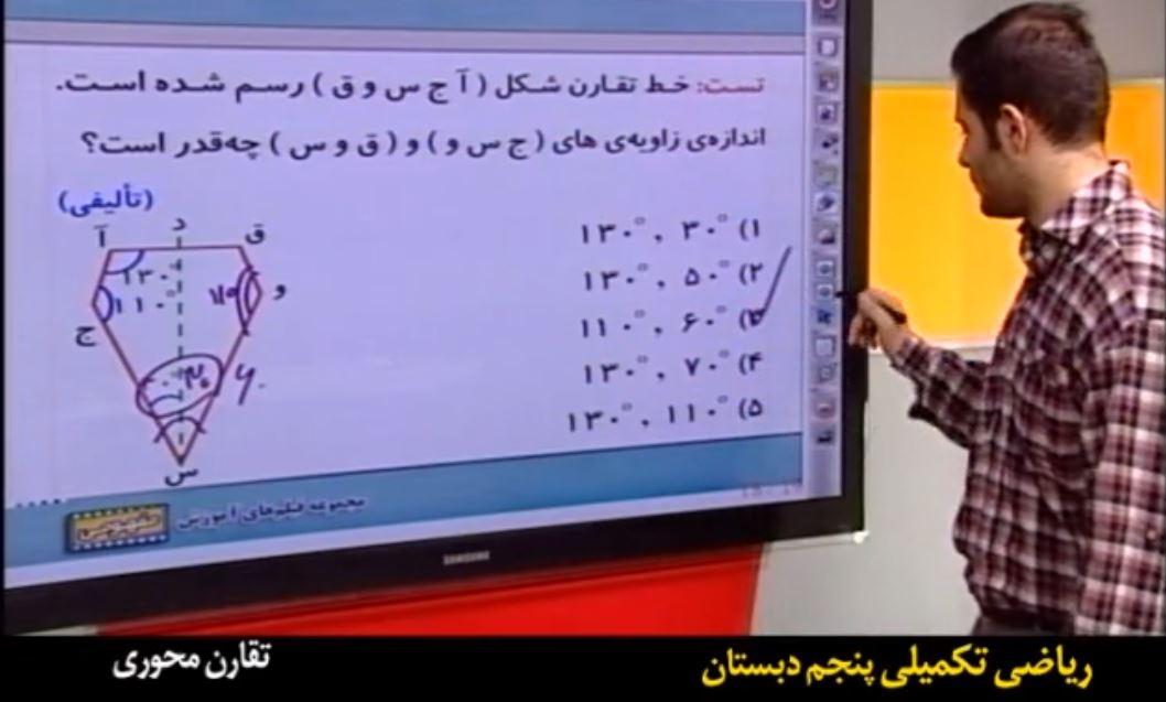 آموزش تیزهوشان ریاضی ششم