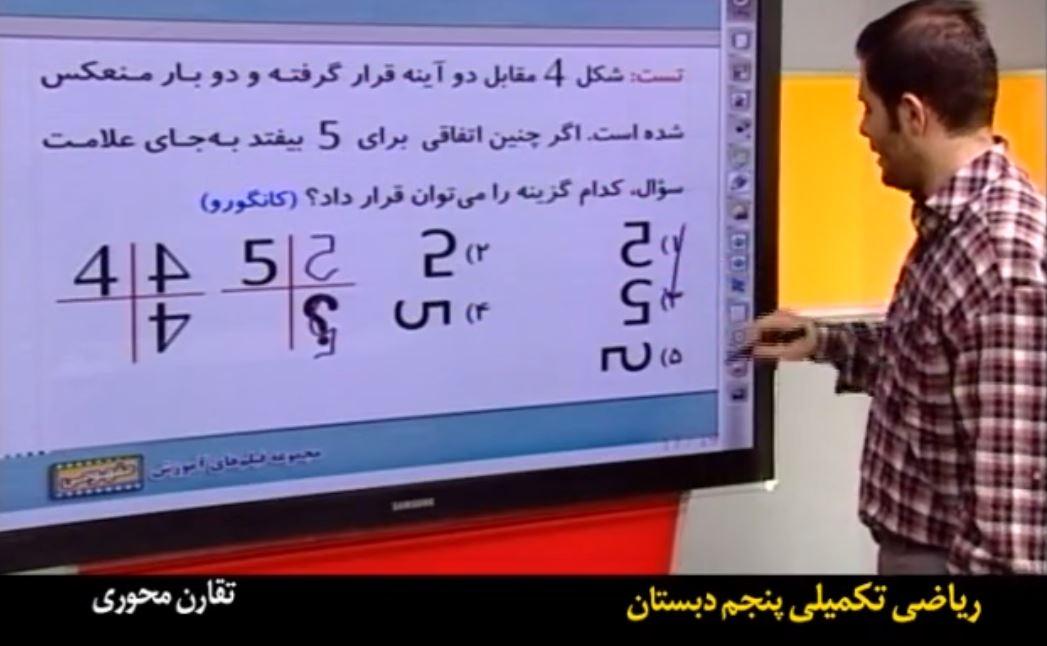 آموزش تیزهوشان ششم ریاضی