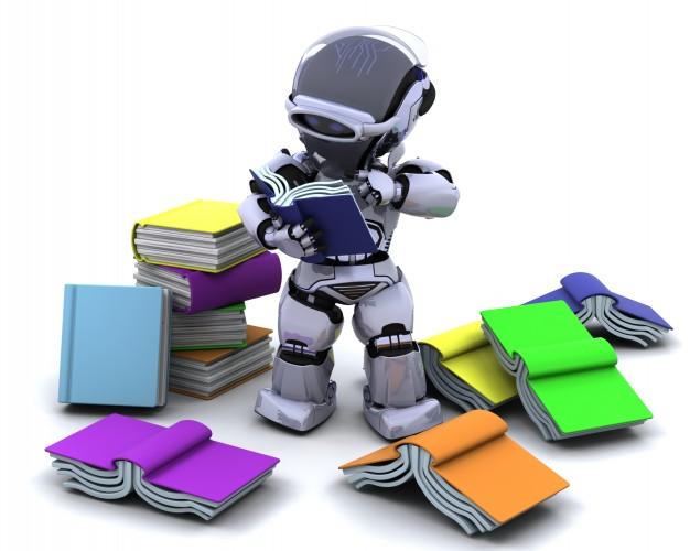 رباتها و انسانها مقابل هم یا در کنار یکدیگر