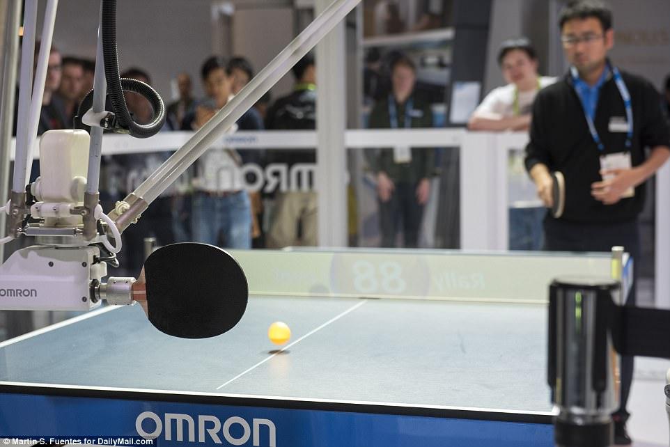 ربات ورزشکار