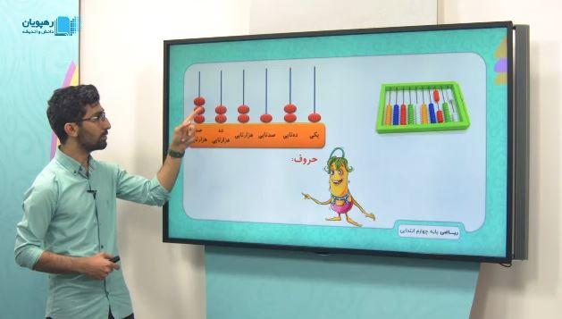 آموزش مفهومی ریاضی چهارم دبستان رهپویان